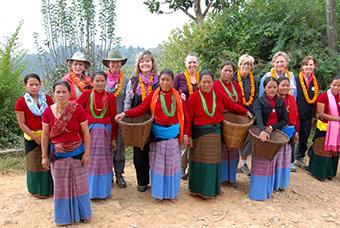 DFW travelers in Nepal