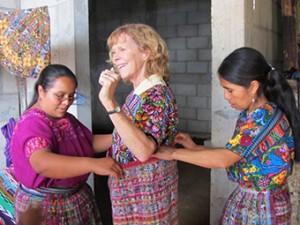 Lynn McClelahan in Guatemala