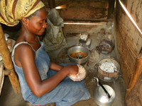 Ugandan kitchen
