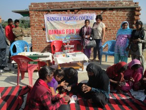 Matrichaya's bangle making classes