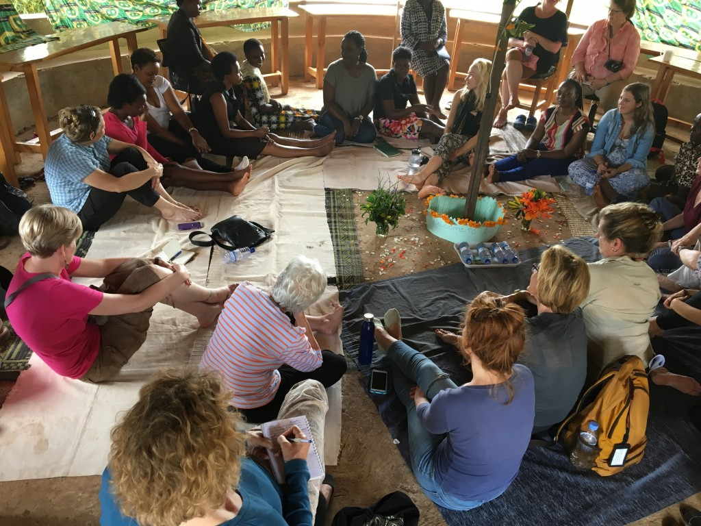 DFW travelers were honored to join the Urubuhero, or women's gathering.