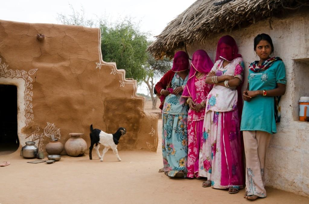 A rural family