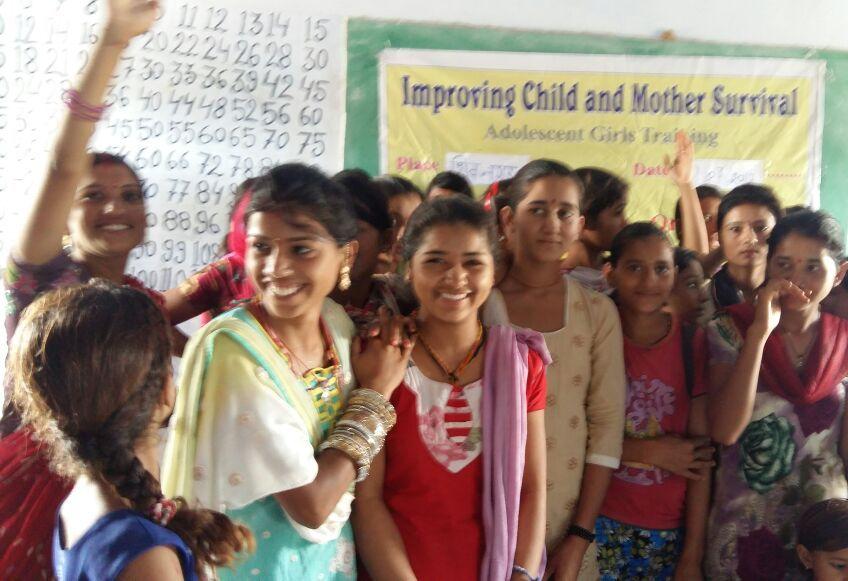 Adolescent Girls camp